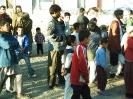 Verteilung von Hilfsgüter Flüchtlingslager in Süd Kabul 05.2006